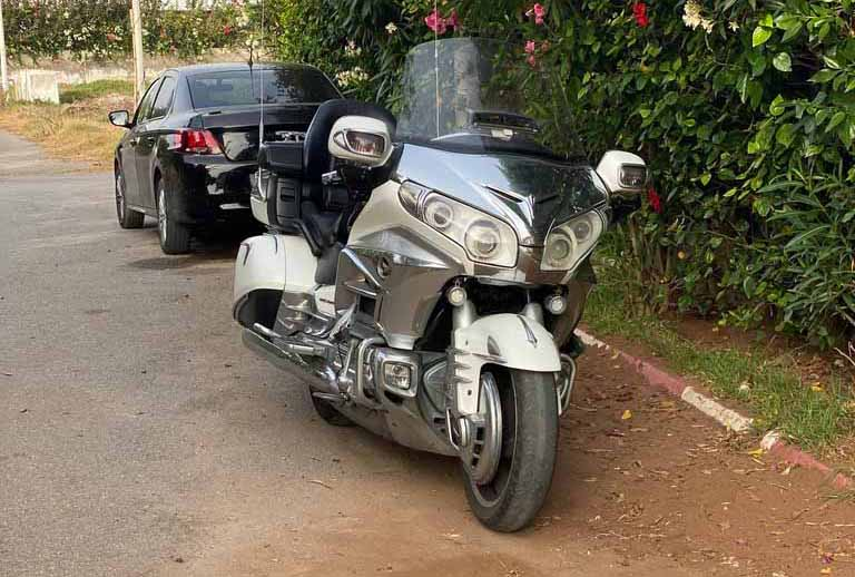 Goldwing 2012 Model Americain toute options