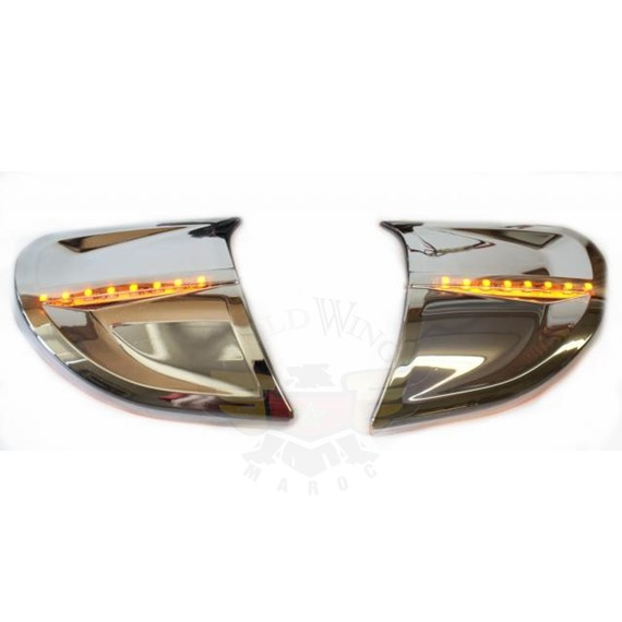 1800 12 Amber LED Turn/Running Windshield Trims 45-1299ALED