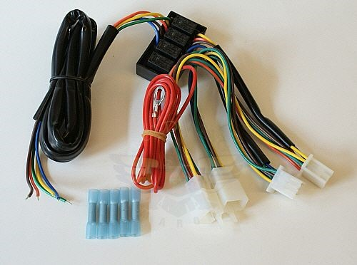 GL1500 Trailer Wire Harness With Relays-GL1500 Trailer Wire Harness With Relays