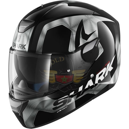 Casque SKWAL TRION Black Chrom Anthracite Tailles L M S XL XS HE5422EKUAL